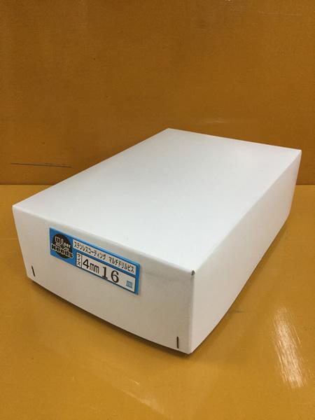 ユニーズ マルチドリルビスステンコート4×16皿徳用紙中箱(938本入)SQ2PH2(四角ビット)-110mm×2本・65mm×3本付 NMD416CS-T [A050308]