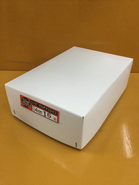 【20日限定☆カード利用でP14倍】ユニーズ マルチドリルビスユニクロ4×16皿徳用紙中箱(1210本入)SQ2PH2(四角ビット)-110mm×2本・65mm×3本付 NMD416S-T [A050308]