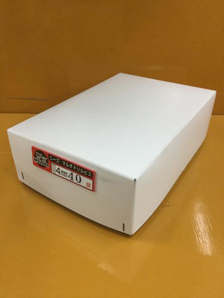 ユニーズ マルチドリルビスユニクロ4×40皿徳用紙中箱(564本入)SQ2PH2(四角ビット)-110mm×2本・65mm×3本付 NMD440S-T [A050308]