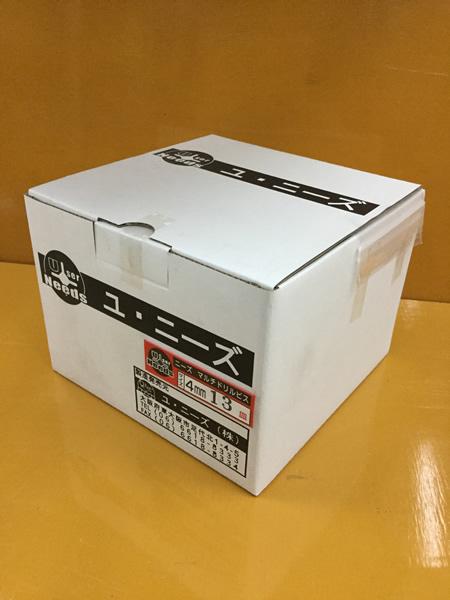 ユニーズ マルチドリルビスユニクロ4×13皿徳用紙大箱(2970本入)SQ2PH2(四角ビット)-110mm×4本・65mm×6本付 NMD413S-O [A050308]