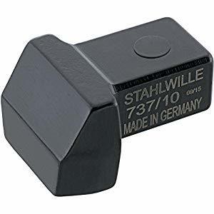 スタビレー STAHLWILLEI トルクレンチ差替ヘッド(ブランク) (58270010) 737/10 [A010322]