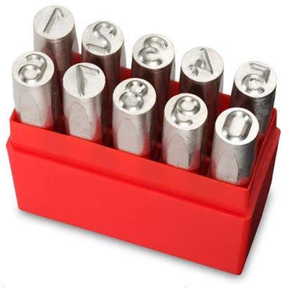 ハトメ 高品質 ポンチ 刻印ならダイシン工具箱におまかせ 期間限定の激安セール エドワードプロイヤー PRYOR PI10025数字 A011912 2.5mm 刻印 0-9. PF25 10本組