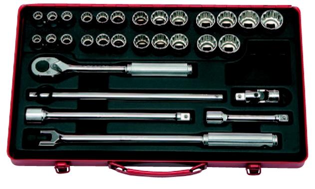 コーケン Ko-Ken 1/2(12.7mm)ソケットセット 30ヶ組 4273AM [A010520]