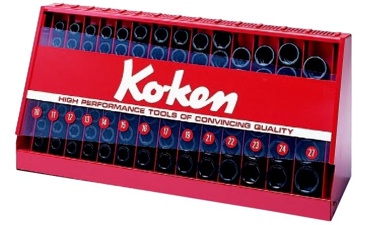 コーケン Ko-Ken 1/2(12.7mm)インパクトソケットスタンドセット 98ヶ組 S14240M [A010723]
