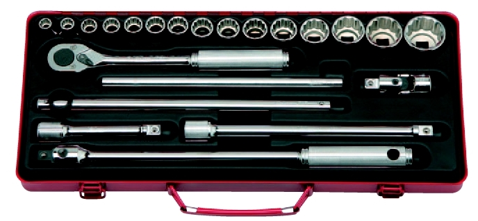 コーケン Ko-Ken Ko-Ken 1/2(12.7mm)ソケットセット 22ヶ組 22ヶ組 4244A [A010520] [A010520], コクミンドラッグ:59308089 --- officewill.xsrv.jp