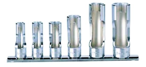 コーケン Ko-Ken 3/8(9.5mm)フレアナットソケットレールセット 6ヶ組 RS3300FN/6 [A010624]