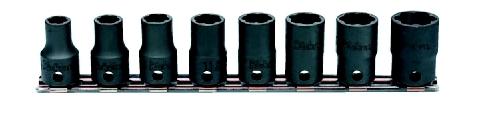 コーケン Ko-Ken 3/8(9.5mm)ナットツイスターレールセット 8ヶ組 RS3127/8 [A010522]