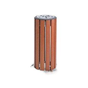 テラモト 木調灰皿 M-126 SS-273-126-0 [F011701]