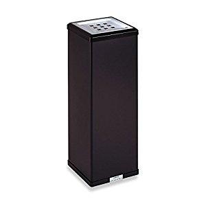 テラモト 消煙灰皿黒 SS-255-000-6 [F011701]