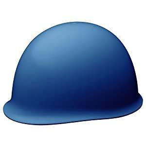 画像は代表画像です ご購入時は商品説明等ご確認ください 秀逸 お気にいる ミドリ安全 ABS製ヘルメット A061107 ブルー SC-MBRA-BL