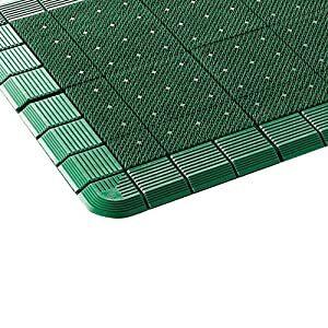 コンドル 山崎産業 エバックハイローリングマットDX #15 緑 F12115 [A160801]