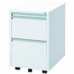 ナカバヤシ スライドテーブルキャビネットホワイト RWX-F520W [A180712]