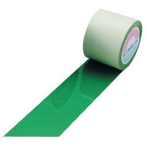日本緑十字社 ガードテープ 50mm幅x100m 緑色 オレフィン樹脂 No.148052 [A062100]