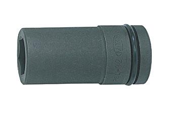 水戸工機 ミトロイ 8/8 インパクトレンチ用ソケットロング 60MM P8L-60 [A010917]