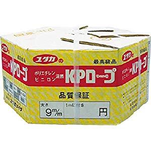 ユタカメイク KPメーターパックロープ 9mm×200m KMP-9 [A230101]