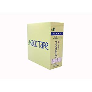 ユタカメイク 粘着付マジックテープ切売箱 A 100mm×25m ホワイト G-551N [A201201]