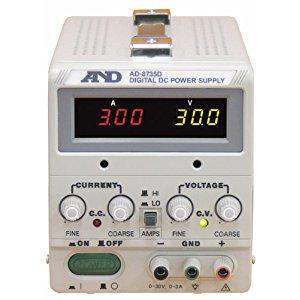 エー・アンド・デイ AND A&D 直流安定化電源トラッキング動作可能LEDデジタル表示 AD8735D [A230101]