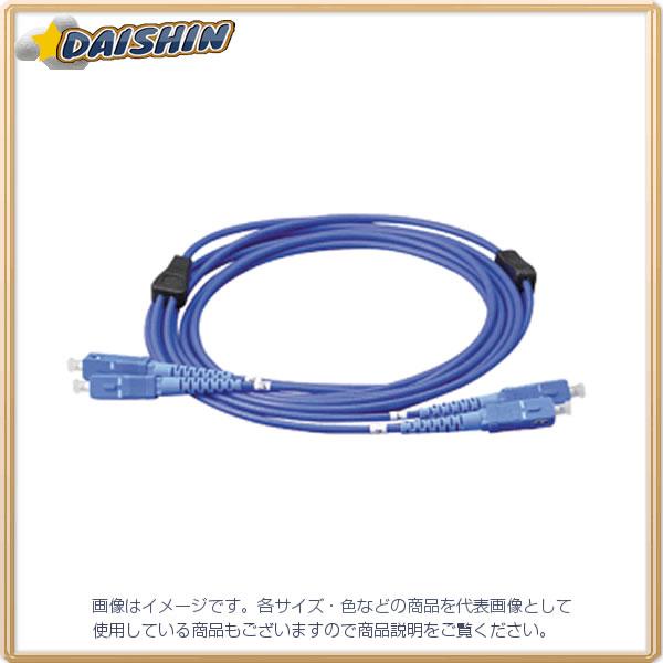 ジェフコム 外装付オプティカルファイバーパッチケーブル LARM-SCMM-10 [F040215]
