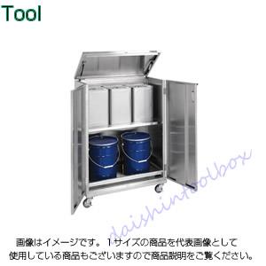 サカエ SAKAE 【代引不可】【直送】 ステンレス 一斗缶保管庫 SU-ITKNAR [A180602]