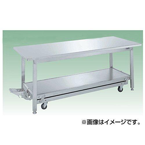 サカエ SAKAE ステンレス作業台(ペダル昇降移動式) SUK-127SSN [A130110]