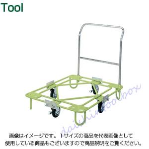 サカエ SAKAE 【代引不可】【直送】 自在移動回転台車 軽量型 取手付タイプ RA-2TG [A130700]