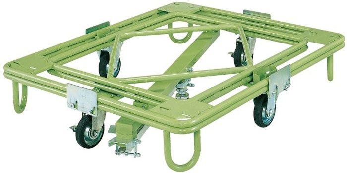 サカエ SAKAE 自在移動回転台車(重量型・センターベース付) RC-1KG [A130528]