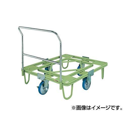 サカエ SAKAE 自在移動回転台車(200φウレタン車・取手付) RE-4TUG [A130528]