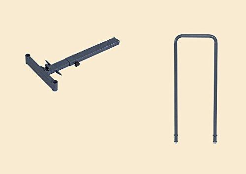 サカエ SAKAE 伸縮式樹脂台車 オプション取手セット SC-5TSET [A050207]