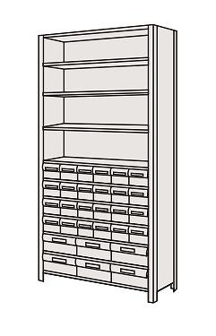 サカエ SAKAE 【代引不可】【直送】【別途送料】 物品棚LEK型樹脂ボックス LEK2121-30T [A170809]