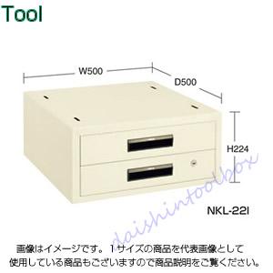 サカエ SAKAE 【代引不可】【直送】 作業台用オプションキャビネット NKL-22B [A130110]