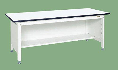 サカエ SAKAE 中量作業台(扇形支柱・三方パネル仕様) KF-59PW [A130110]
