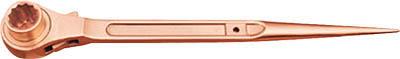 最高の 【】【直送】 [A020202]:DAISHIN工具箱 店 CBRHW-3641 【◆◇スーパーセール!最大獲得ポイント19倍!◇◆】ハマコS.S 両面ラチェットレンチ HAMACO-DIY・工具