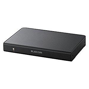 エレコム 【個人宅不可】 HDMI分配器 1入力 4出力 ブラック VSP-HD14BK [F040323]