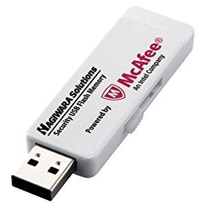 エレコム ウィルス対策機能付USBメモリー 8GB 1年ライセンス HUD-PUVM308GA1 [F040323]