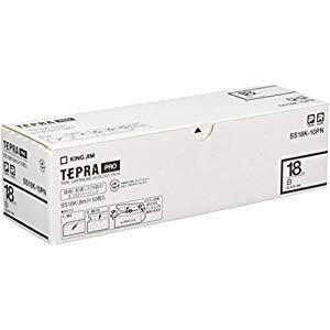 キングジム PROテープエコパック白ラベル10個 [36077] SS18K-10PN [F040115]