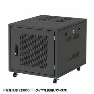 サンワサプライ 19インチサーバーボックス(9U) CP-SVNC2 [F040323]