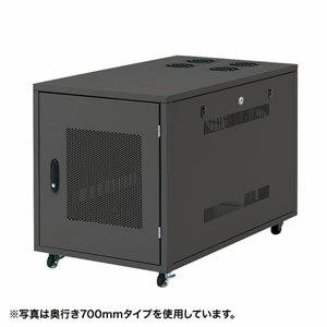 サンワサプライ 19インチサーバーボックス(12U) CP-SVNC4 [F040323]