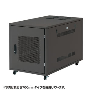 サンワサプライ 19インチサーバーボックス(12U) CP-SVNC6 [F040323]