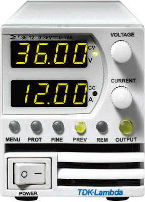 TDKラムダ 超小型高電力密度CVCC可変電源Z+シリーズ 800W Z100-8-J [A072121]