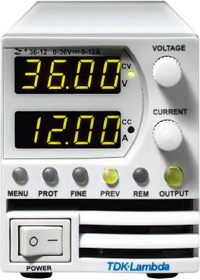 TDKラムダ 超小型高電力密度CVCC可変電源Z+シリーズ 200W Z36-6-J [A072121]
