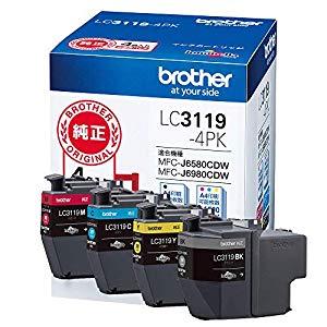 ブラザー インクカートリッジ LC3119-4PK [36943] LC3119-4PK [F011702]