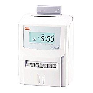 マックス MAX 電子タイムレコーダ [00015365] ER-250S2(ER90028) [F020207]