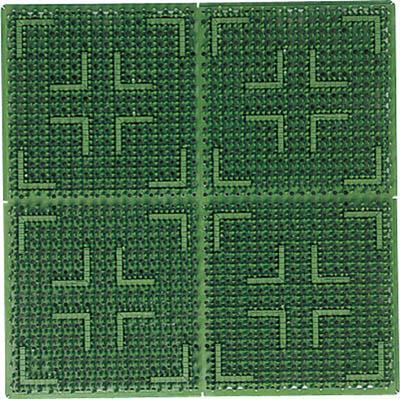 山崎産業 コンドル (屋外用マット)クロスハードマット 別注 緑 F-112-OR GN [D011101]