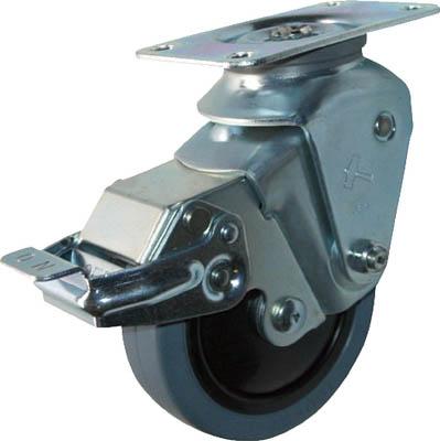 ハンマーキャスター オールステンレスクッションE自在SPゴム125mm線径2.0 935S0E-FR125S20 [A050207]