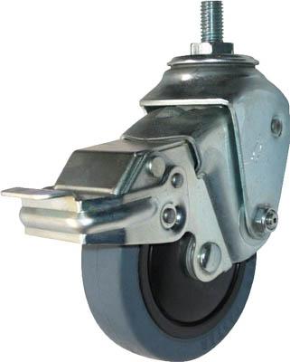 ハンマーキャスター ステンレスクッションEねじ込みUNF1/2SPゴム125mm線径2.3 935SEA-FR125S123 [A050207]