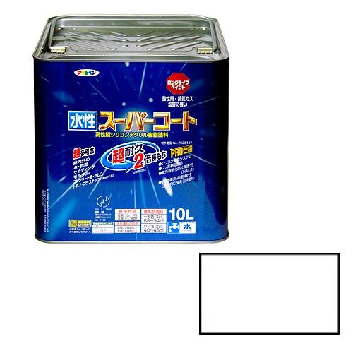 【★店内ポイント2倍!★】アサヒペン 水性スーパーコート 白 [A190201]