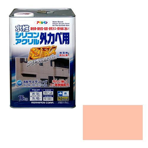 アサヒペン 水性シリコンアクリル外かべ用 ティントローズ [A190706]