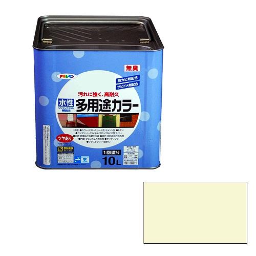 【★店内ポイント2倍!★】アサヒペン 水性多用途カラー ミルキーホワイト [A190201]