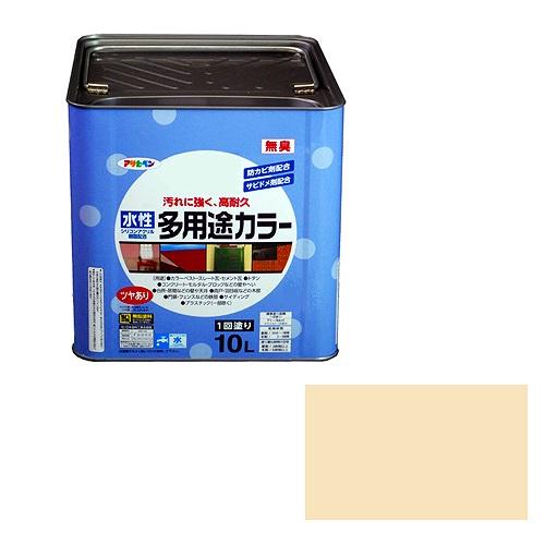 アサヒペン 水性多用途カラー アイボリー [A190201]