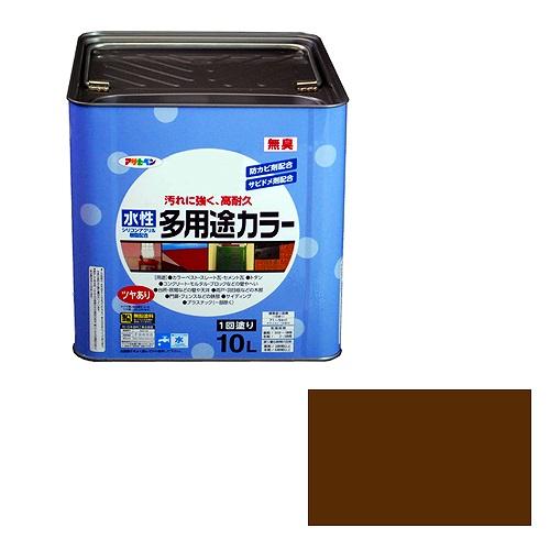 アサヒペン 水性多用途カラー ブラウン [A190201]